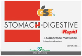 GSE Stomach Digestive Rapid 8 compresse